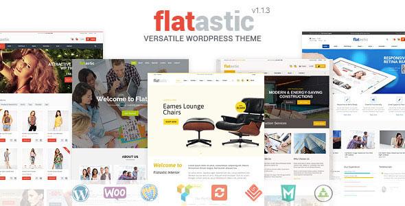 Flatastic v1.3.0 – Themeforest Versatile WordPress Theme - themesdad ...