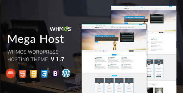 Megahost v1 7 – Hosting, Technology, Software And WHMCS