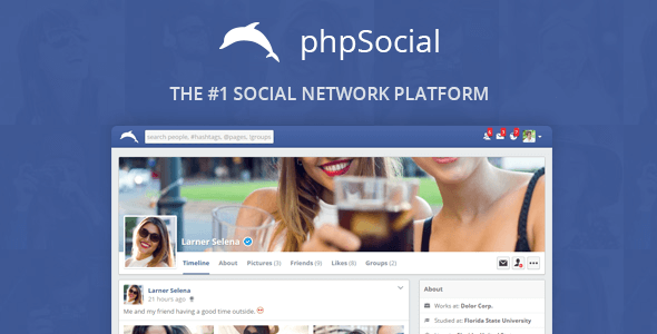 Image Result For Social Network Platform Codecanyon